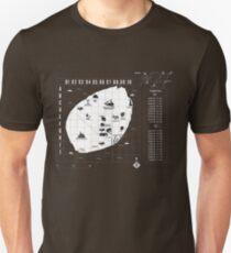 Battle Royale Map Unisex T-Shirt
