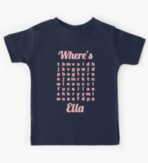 Baby Ella learns word puzzle Kids Clothes
