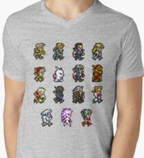 FINAL FANTASY VI Men's V-Neck T-Shirt