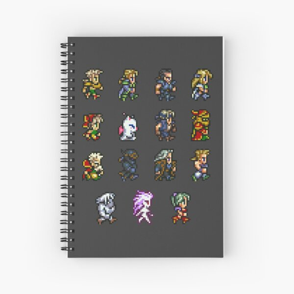 FINAL FANTASY VI Spiral Notebook