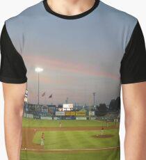 Baseball Field Graphic T-Shirt
