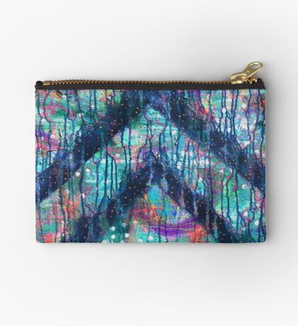 Sacred Heart Key - an activated Inner Power Painting Studio Pouch