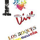 «I LOVE LOS ROQUES VENEZUELA» de Org Bluewater