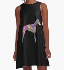 Paisley Whippet A-Line Dress