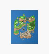 DINOSAUR'S LAND MAP Art Board