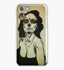Sugar Skull Girl 1 iPhone Case/Skin