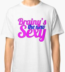 Sherlock, Brainy's the New Sexy Classic T-Shirt