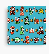 SUPER MARIO BROS 3 Canvas Print