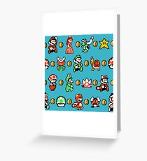 SUPER MARIO BROS 3 Greeting Card