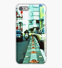 on the road - tokyo-taxi iPhone Case/Skin