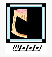 Robot Master - Wood Photographic Print