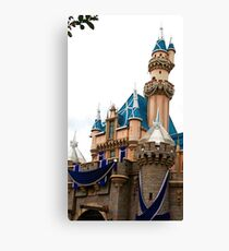 Castle Contrast Canvas Print
