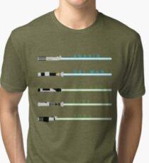 Lightsabers Tri-blend T-Shirt
