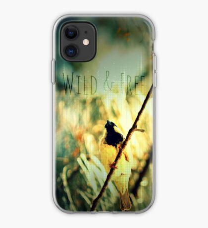 Wild & Free Birdie iPhone Case