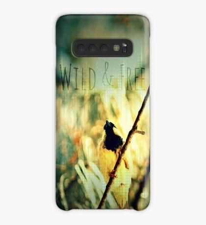 Wild & Free Birdie Case/Skin for Samsung Galaxy