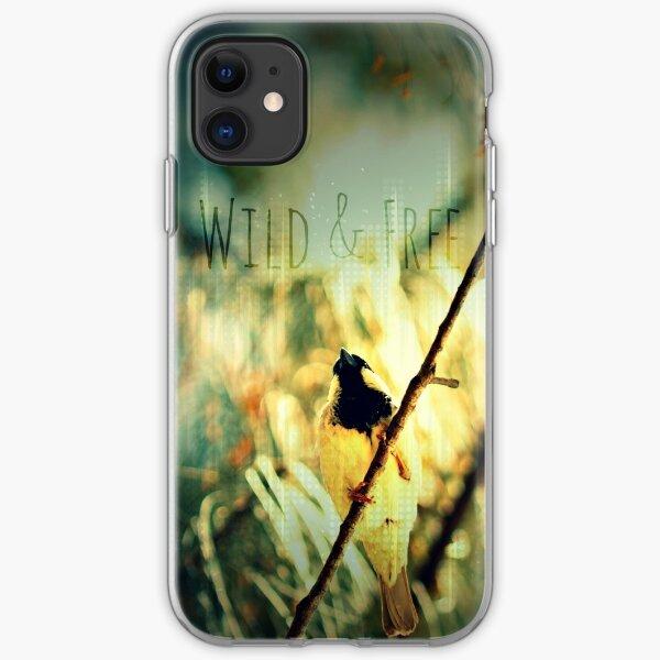 Wild & Free Birdie iPhone Soft Case