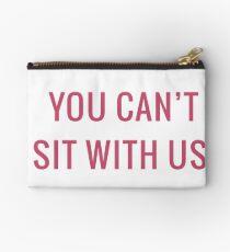 Du kannst nicht mit uns sitzen Täschchen