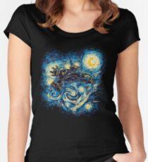 Starry Flight Women's Fitted Scoop T-Shirt