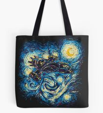 Starry Flight Tote Bag