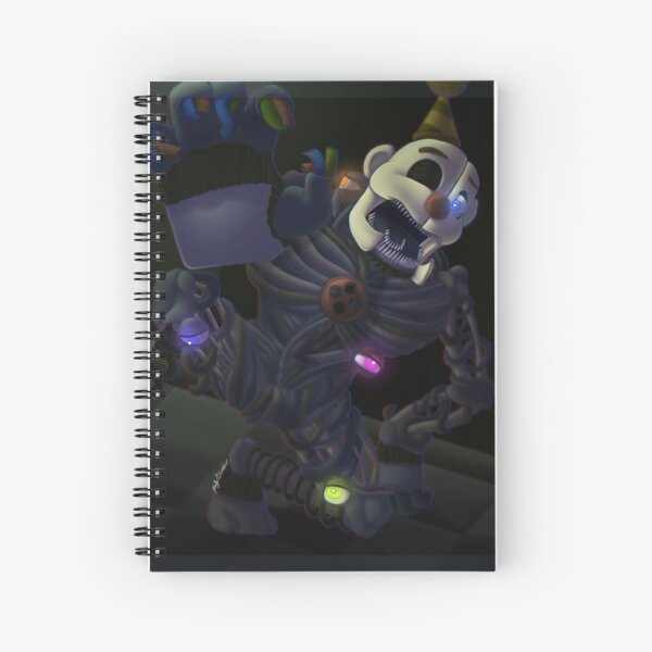 1, 2, Ennard's Coming for You Spiral Notebook