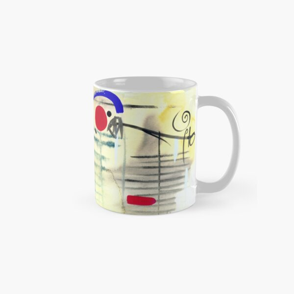 Oriental Abstract Art Print Classic Mug