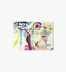 Abstract: Oriental Art Board