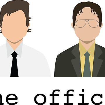 Jim & Dwight by hiledwards