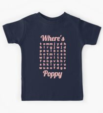 Baby Poppy learns word puzzle Kids Clothes