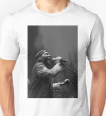 The wonderful Jimmy Cliff 7 (n&b)(h) by expressive photos ! Olao-Olavia by Okaio Créations  Unisex T-Shirt