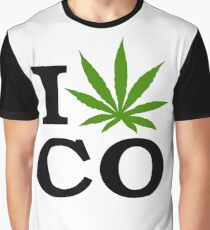 I Marijuana Colorado Graphic T-Shirt