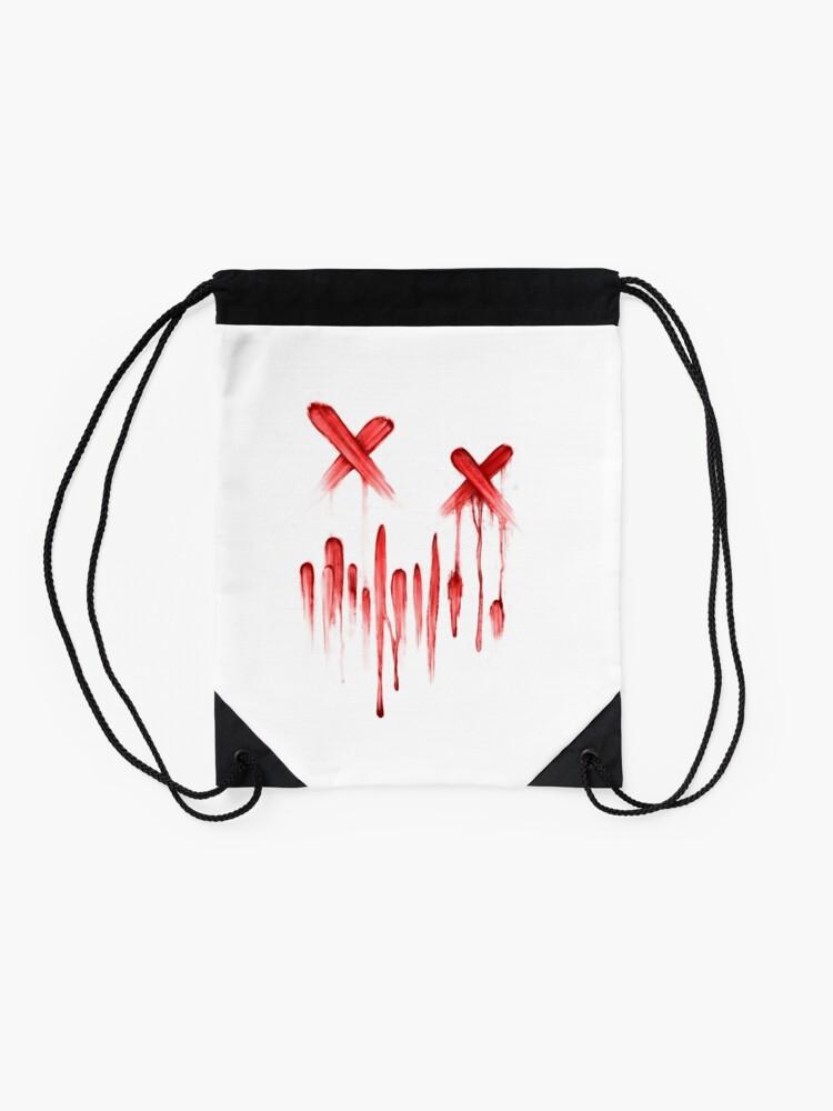 Alternative Ansicht von Grimmiges Logo - Blut Turnbeutel