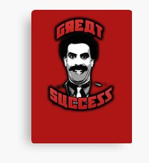 Borat - Great Success Canvas Print