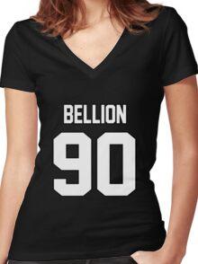 Jon Bellion Women's Fitted V-Neck T-Shirt