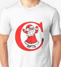C for Celebration (or Christmas) Unisex T-Shirt