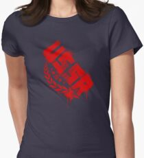 Russian Red Womens Fitted T-Shirt