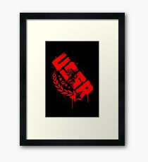 Russian Red Framed Print