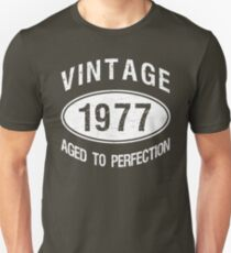 Vintage 1977 Birthday Unisex T-Shirt