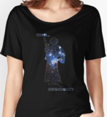 To me, she is royalty Women's Relaxed Fit T-Shirt