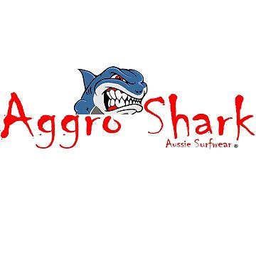 Aggro Shark Logo by AGGRO