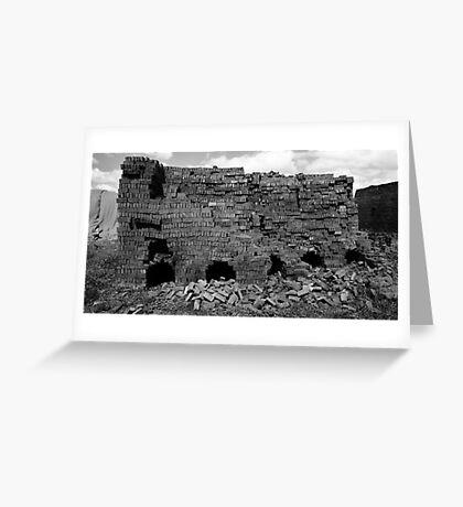 Pyramids of Juba Greeting Card