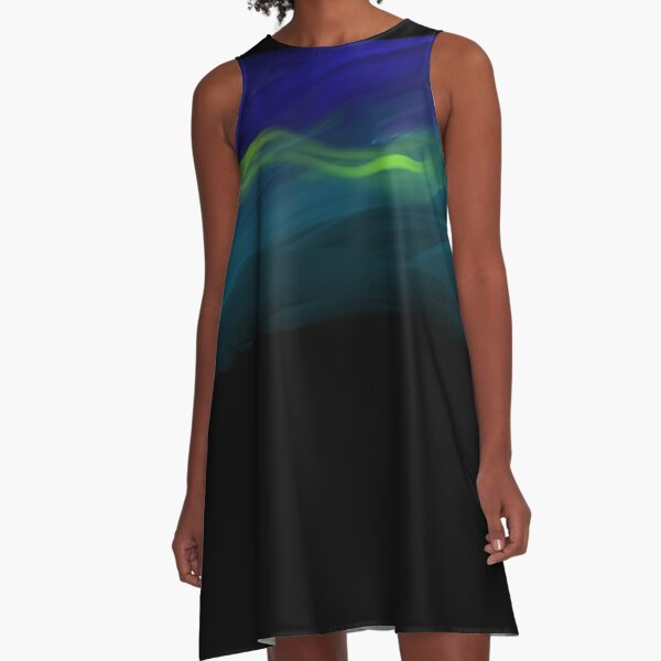 Illuminated Evening A-Line Dress