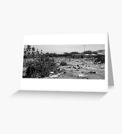 Aftermath Greeting Card