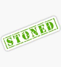 STONED Sticker