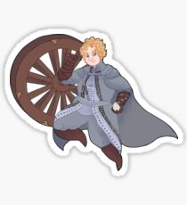 Alfred the Executioner but he's holding an egg Sticker