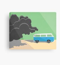 Dharma Van vs Smoke Monster Canvas Print