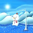 Snowbaby on Sparkling Ice by We ~ Ivy