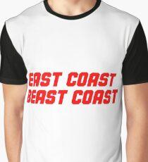 East Coast Beast Coast Graphic Graphic T-Shirt
