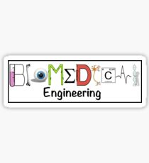 Biomedical Engineering Sticker