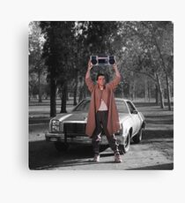 Say Anything - Lloyd Dobler Boombox Canvas Print