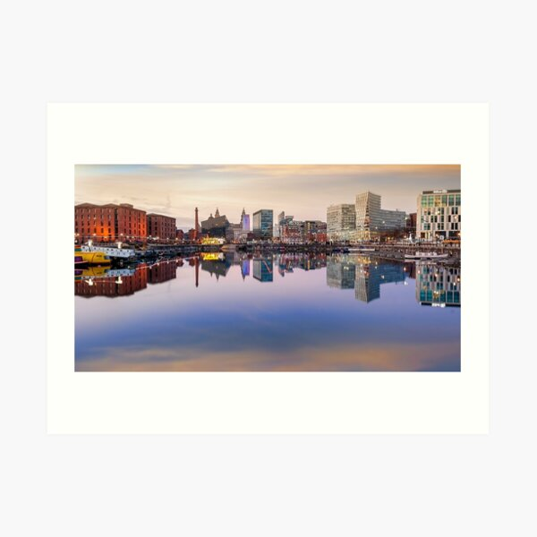 Salthouse Dock Liverpool Art Print